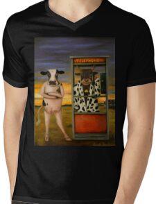 Cattle Call Mens V-Neck T-Shirt