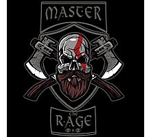Master the Rage Photographic Print