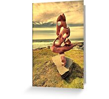 2016 Sculpture by the Sea 16 Greeting Card