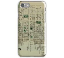 Map of Saint Andrews 1878 iPhone Case/Skin
