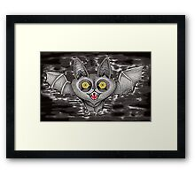 Crazy eyes  Framed Print