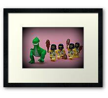 Run Rex! Framed Print