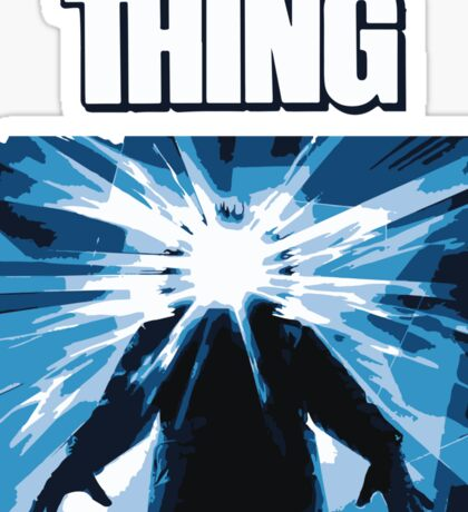 The thing Sticker