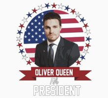 Oliver Q For President One Piece - Short Sleeve