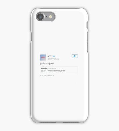 ICONIC TWEETS - GOT7 JINYOUNG iPhone Case/Skin