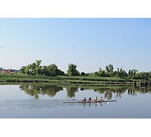 Rowing Team Photographic Print