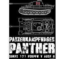 PANTHER TANK Photographic Print