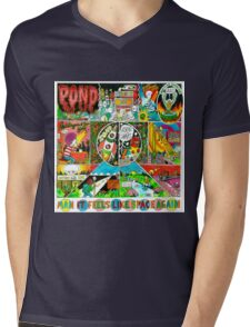 Pond - Man it Feels Like Space Again Mens V-Neck T-Shirt