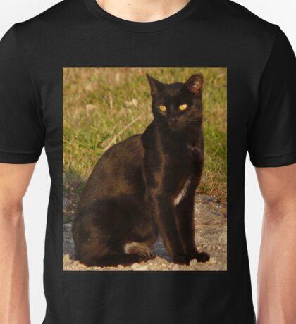 Blackie Posing Pretty Unisex T-Shirt