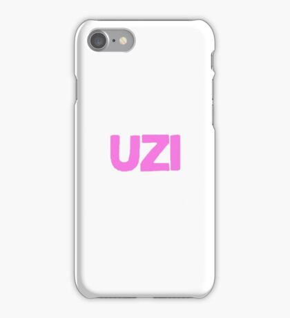 """Lil Uzi Vert """"UZI"""" iPhone Case/Skin"""