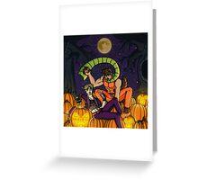 Monster Tendency Greeting Card