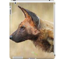 Wild Dog Profile iPad Case/Skin