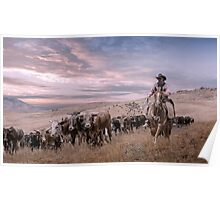 Reno Cattle Drive Poster