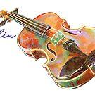 Violin by evisionarts