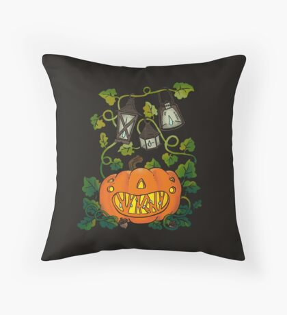 Collector Pumpkin Throw Pillow