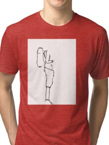 Backpacker in Thailand Tri-blend T-Shirt