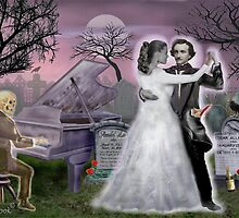 Poe and Annabel Lee Eternally by GLENN HOLBROOK