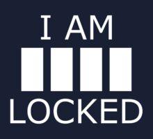 I AM _ _ _ _ LOCKED Kids Tee