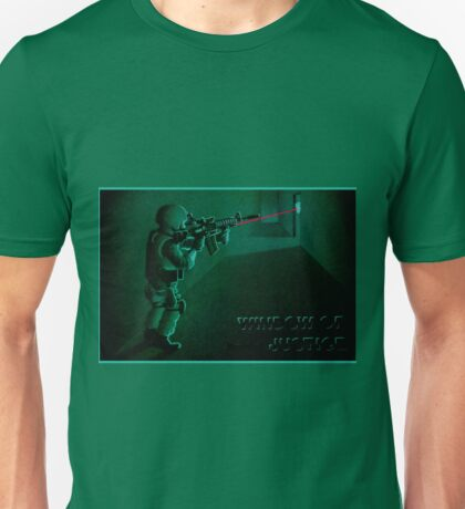 Window of Justice, Bin Laden Unisex T-Shirt