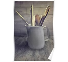 A Pitcher Of Spoons Poster