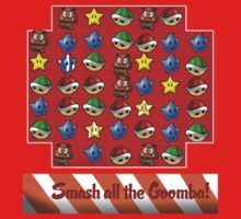 Smash all the goomba! by Arry