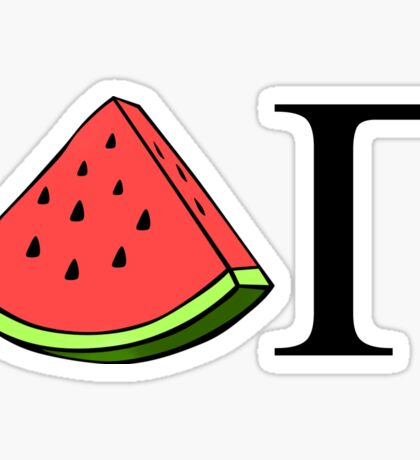 DG Watermelon Sticker