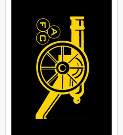 Arsenal Cannon Sticker