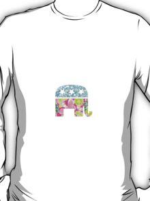 Lily Pulitzer Republican Elephant T-Shirt