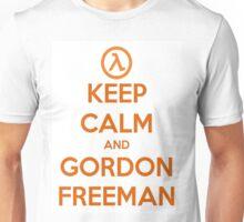 Keep Calm And Gordon Freeman Unisex T-Shirt