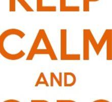 Keep Calm And Gordon Freeman Sticker