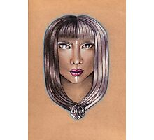Gemini ♊ Astrological Fantasy Portrait Photographic Print