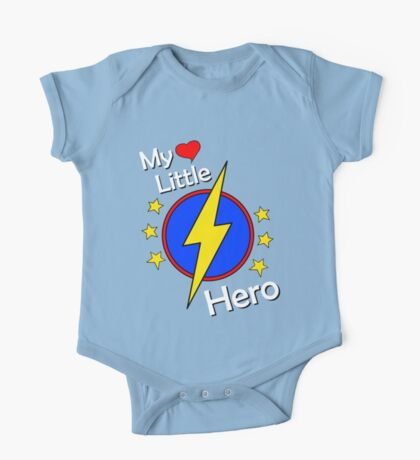 My Cute Little Super Hero - No Letter One Piece - Short Sleeve