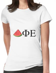DPhiE Watermelon Womens Fitted T-Shirt
