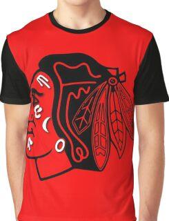 Chicago Blackhawks Hockey Inspired Graphic T-Shirt