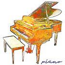 Piano by evisionarts