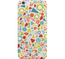 Background Christmas iPhone Case/Skin