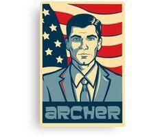 Archer for President - Archer Canvas Print