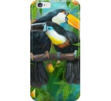 Tropic Spirits - Toucans iPhone Case/Skin