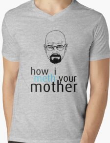 How I Meth Your Mother - Breaking Bad Mens V-Neck T-Shirt