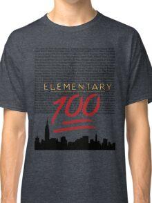 #Elementary100  Classic T-Shirt