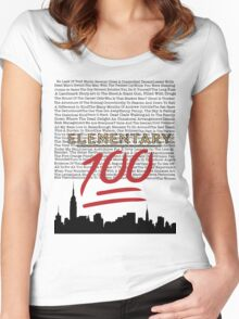 #Elementary100  Women's Fitted Scoop T-Shirt