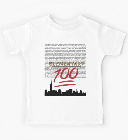 #Elementary100  Kids Tee