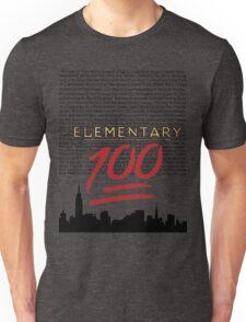 #Elementary100  Unisex T-Shirt