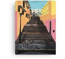 Escalones de San Juan Canvas Print