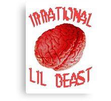 Silly Brain. Canvas Print