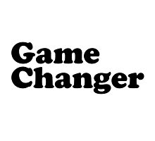 Be a Gamechanger!! Game Changer BBYO ~ AZA BBG SWAG BBYOSWAG #GameChangers #MadEDesigns Photographic Print