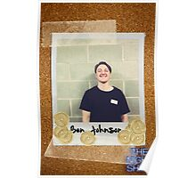 Ben Johnson Poster