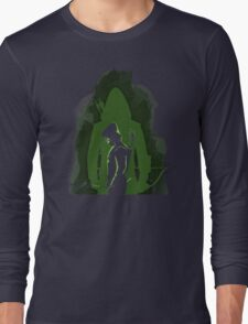 Green shadow Long Sleeve T-Shirt