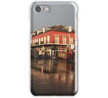 Early Morning in The French Quarter   iPhone Case/Skin