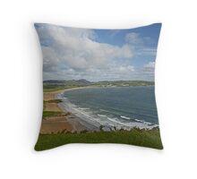 Ballymastocker Strand Throw Pillow